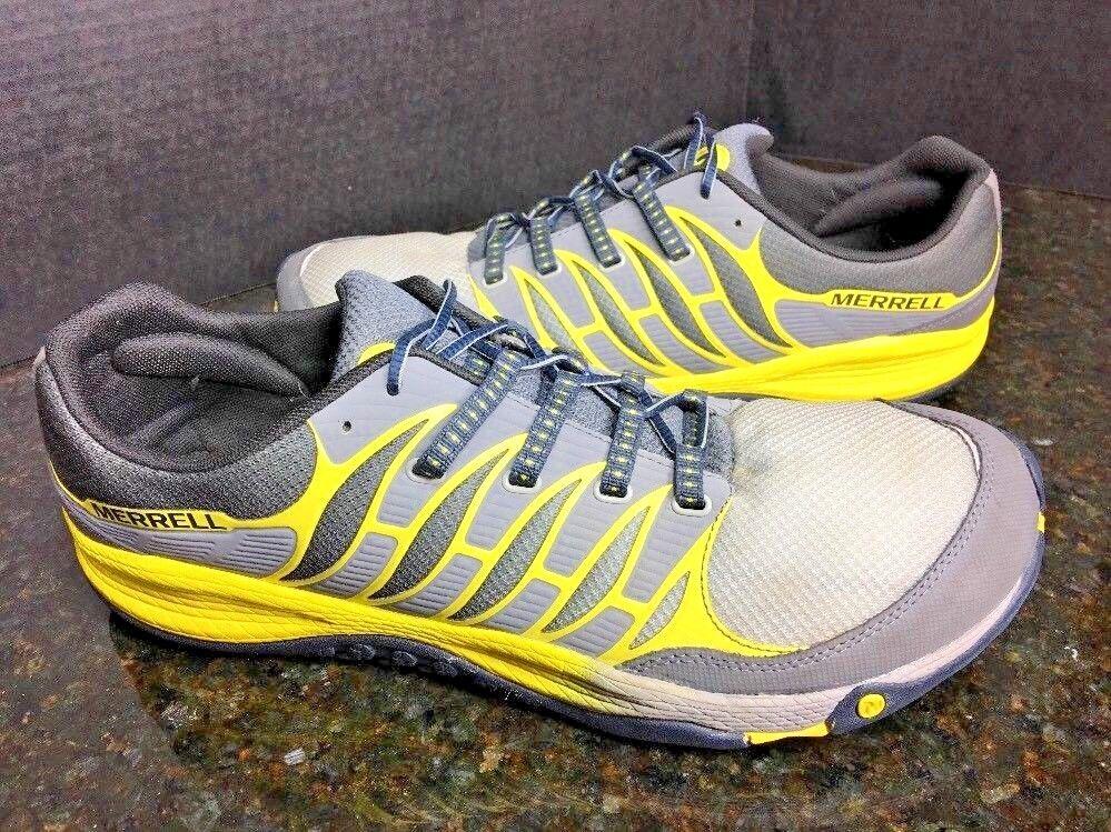 Merrell Castle Rock Gris/amarillo Para Hombre Trail Trail Trail Zapatos EE. UU. talla. 14 M/49 euros ba20fd