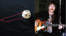 The Beatles  Lennon Suzu Charm Guitar Lucky Bell Ball Bamboo Weave Band Gift