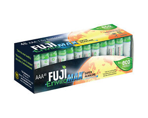 48-Fuji-EnviroMAX-Super-Alkaline-AAA-Eco-Friendly-Batteries
