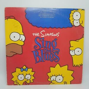 THE-SIMPSONS-Sing-the-Blues-LP-Master-by-Capitol-on-Geffen-Wally-VG-PROMO