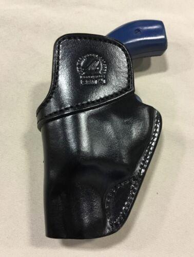 """RUGER SP101-2"""" Revolver # 7300 BLK Leather IWB Holster S/&W J Frame 2"""""""