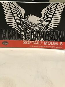 USED 2018 HARLEY-DAVIDSON SOFTAIL MODELS OWNERS MANUAL, | eBay