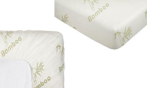 Single//KS//Double//Queen//King Bamboo Fully Fitted Mattress Protector//Fitted Sheet