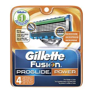 Gillette-Fusion-Proglide-Power-Men-Razor-Blade-Refills-4-Count-FAST-SHIPPING