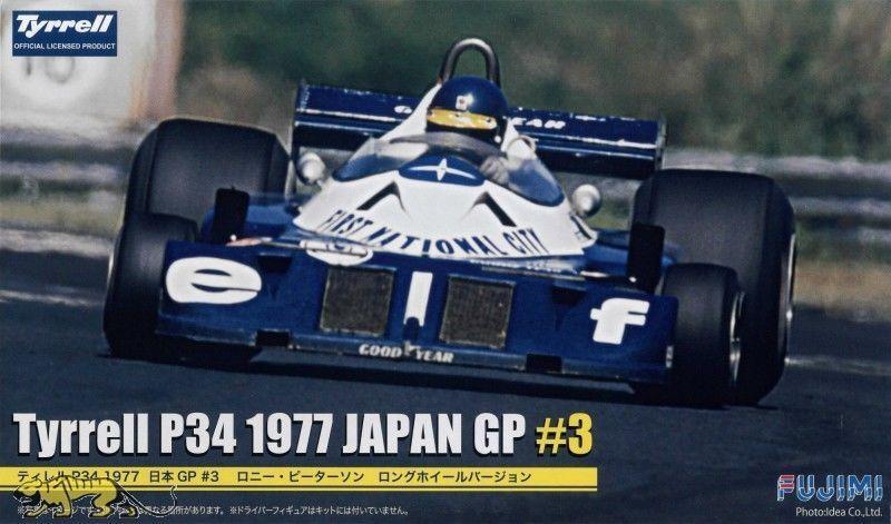 FUJIMI 1:20 KIT KIT KIT AUTO F1 TYRRELL P34 1977 JAPAN GP #3   ART 090900 GP34   à Prix Réduits  a4f6f7