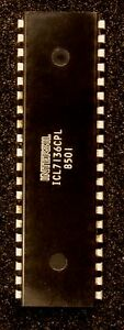 Icl7136cpl Ic A/d Converters With Overrange Recovery Intersil Ic Pdip-40 Ufupuzz3-07172425-991639262
