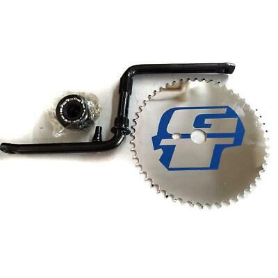 GT Power Series BMX Bicycle 1 Piece Crank Chrome Full Set Cr-Mo 52 Teeth