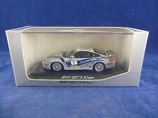 Rare Minichamps WAP 02005799 Porsche 911 GT3 Cup in Silver Porsche Packaging