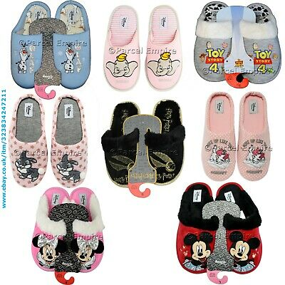 DISNEY MINNIE MOUSE Sequin Footlets Slippers Ladies Primark SIZES UK 3-8