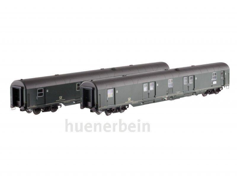 Ls Models 46304 set 2x dB Post carro Deutsche Bundespost marzo verde ep4-5 nuevo + embalaje original