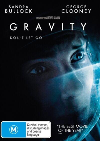 Gravity (DVD, 2014)