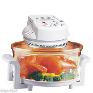 Countertop Convection Infrared Oven : HALOGEN INFRARED TURBO CONVECTION COUNTERTOP OVEN W/ EXTENSION RING ...