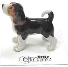 ➸ LITTLE CRITTERZ Dog Miniature Figurine Pug Button