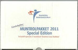 NEDERLAND-Muntrolpakket-2011-met-ERASMUS-ROL-Totaal-9-rollen-RARE