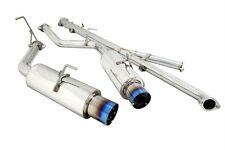 MEGAN CATBACK EXHAUST FOR 91-99 MIT. 3000GT TT VR-4 DOHC V6 TI TIP ONLY