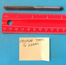 Vintage Chicago Tool 14 Reamer 6 Flute Straight Reamer Made In Usa