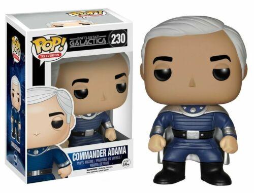 Funko Pop 171 Battlestar Galactica Comander Adama Figurine #230
