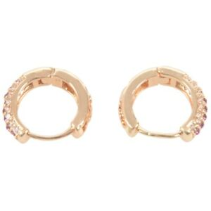 Elegant-CZ-Stone-Hoop-Earrings-for-Women-Gold-plated-Piercing-Jewelry-Gold-BT