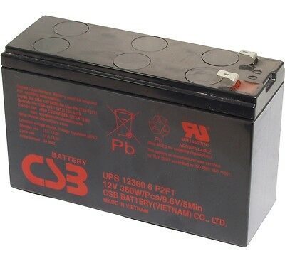 Batterie Csb Ref Upc12360-6 / 12v 360w - Produit Neuf Avec Facture Sapore Puro E Delicato