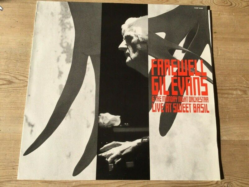 LP, Gil Evans & The Monday Night Orchestra, Farewell Gil