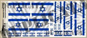 Diorama-Accessory-Israeli-Flag-1-72-1-48-1-32-1-35-w-Motion-Ripples