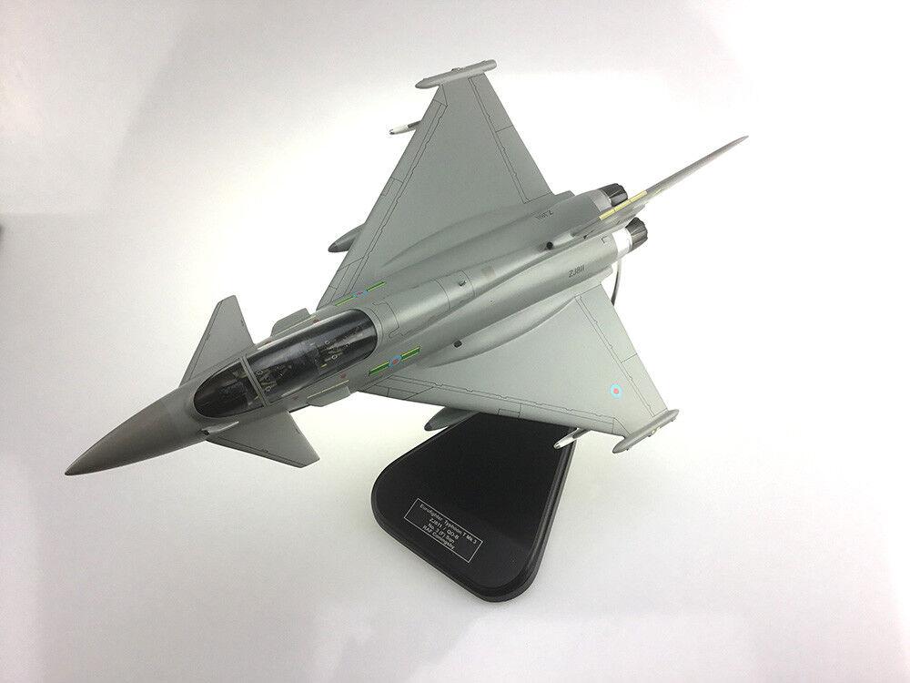 Bravo Delta Eurofighter Typhoon RAF T Mk 3 Aeroplane Model Scale 1 42