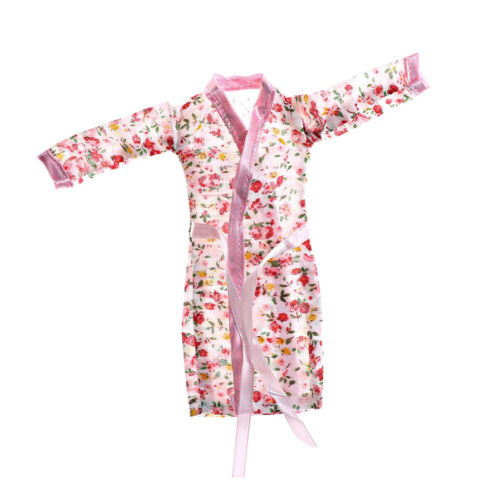 Doll Clothes Flower Printed Pajamas Sleepwear for  Doll Accessory C/&E LL
