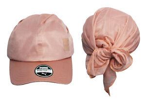 e4d0f479f7b Puma En Pointe Peach Beige Unisex Mens Womens Bandana Cap Hat 021492 ...