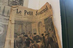 LE PETIT JOURNAL ANNEE 1907/