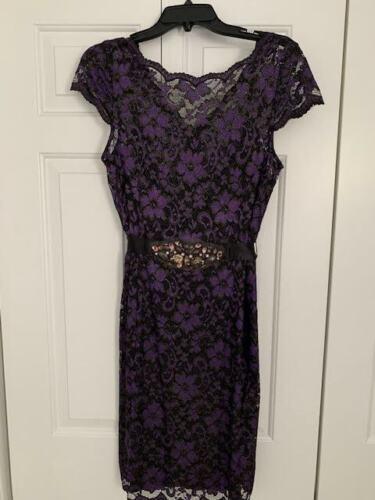 Teri Jon Lace Cocktail Dress Size 14