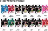 Starbuzz E Hose By Square Flavor Cartridges Electronic Hookah 14 Flavors 4 Pack