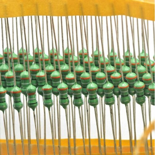 SN-A 100pcs 2.2uH Axial Lead Color Ring Fixed Inductor 1//2W