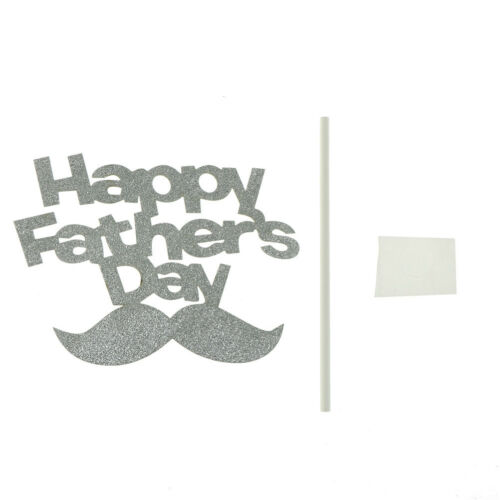 Happy Father/'s Day Cake Toppers CupCake Cake Flags Fathers Birthday Party T Kj/_