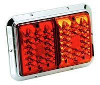 Bargman 47-85-615 Trailer Light Surface Mount For 84/85 Series Red/amber Double