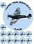 "12 x 1.5/"" PREMIUM Edible ICING Cake Topper D1 SPITFIRE RAF BATTLE BRITAIN 7.5/"""