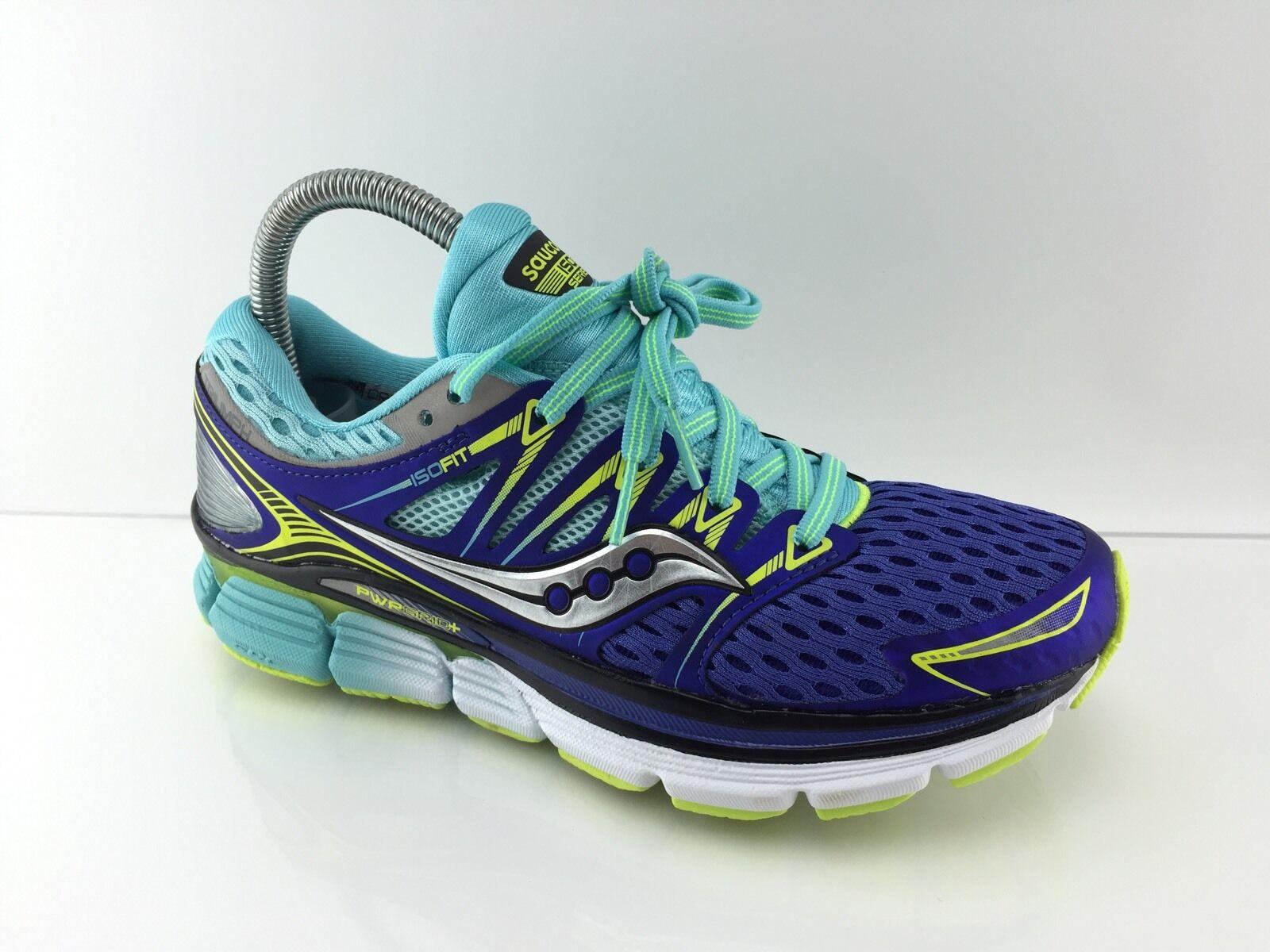 129 Saucony Triumph ISO Womens Dark Twilight multi color Athletic shoes 7