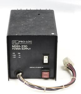PRO-LOG-POWER-SUPPLY-M281-230-240VAC-5V-10A-12V-1A-12V-1A-VOLTAGE-SENSING