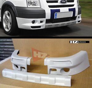 ford transit mk7 sport upgrade front bumper lip splitter. Black Bedroom Furniture Sets. Home Design Ideas