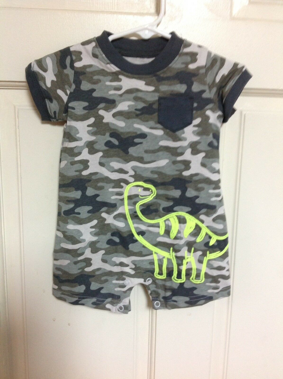 Newborn Baby Bodysuit Summer Clothes Boys Girls Jumpsuit Baby 3-6M Outfits A5E0