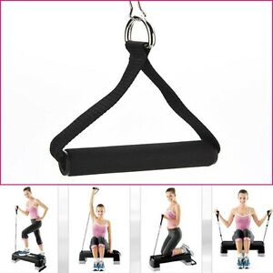 Tricep-Fitness-Rope-Cable-Attachment-Handle-Bar-Dip-Station-Resistance-Exercise