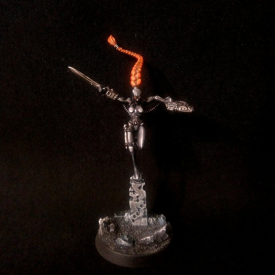 PRO-PAINTED Kill Team Officio Assasinorum Callidus Callidus Callidus Assassin COMMISSION 1 model d84a3c