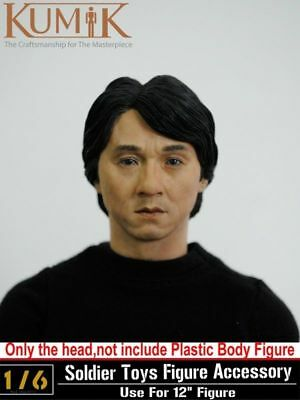 1:6 KUMIK Jackie Chan Testa Sculpt Figura Accessorio Maschio Testa Dipinta #13-41-NP