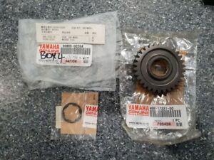 GENUINE-YAMAHA-XJ650-XJ750-XJ900-2ND-GEAR-WHEEL-amp-WASHER-30T-99999-02204-NOS