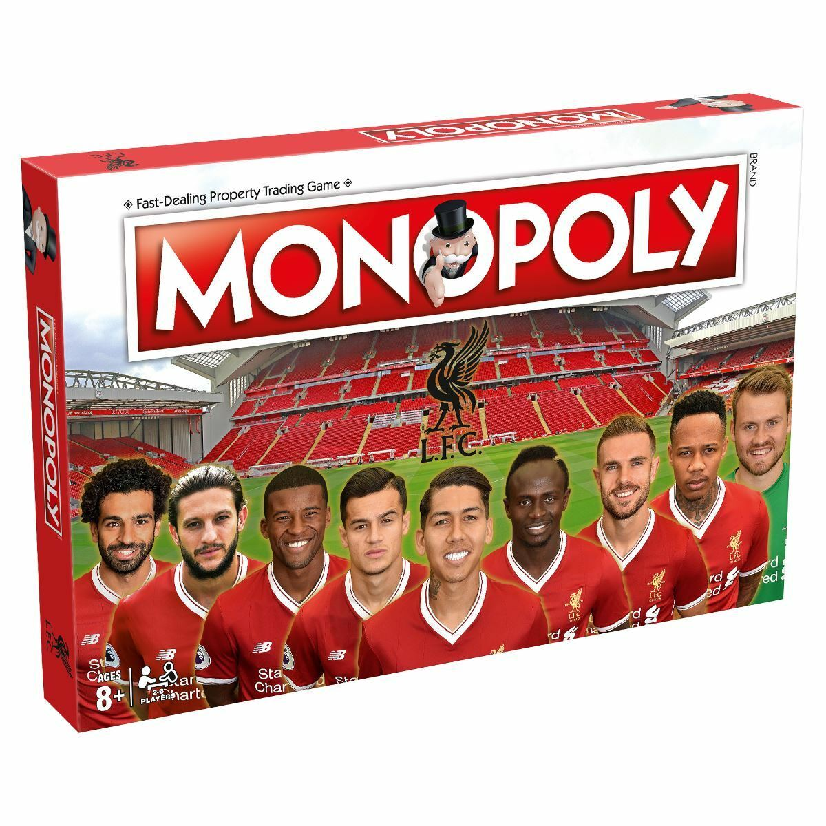 Liverpool FC 2017 18 Monopoly Board Game