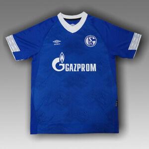 FC Schalke 04 2018/2019 Home Football Soccer Shirt Jersey Umbro ...