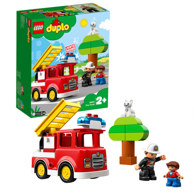 LEGO DUPLO Feuerwehrauto, Konstruktionsspielzeug