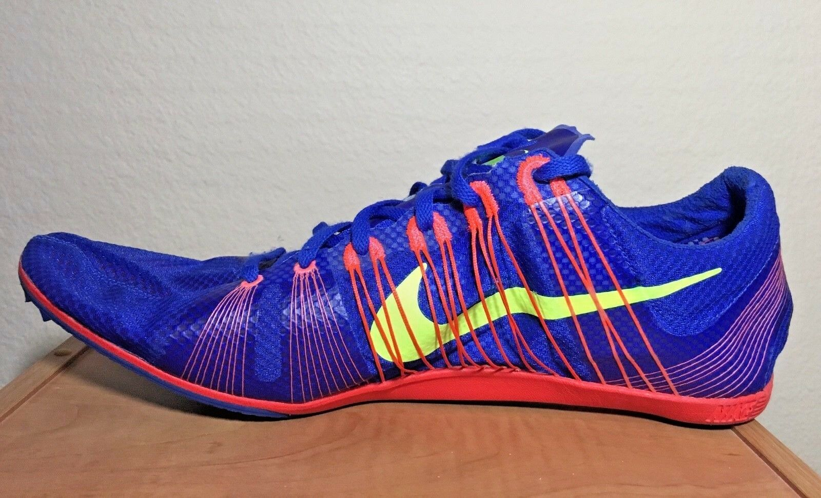 New - Box No Box - - Nike Zoom Victory 2 Track [555365-476] Game Royal Volt Size 15 802425