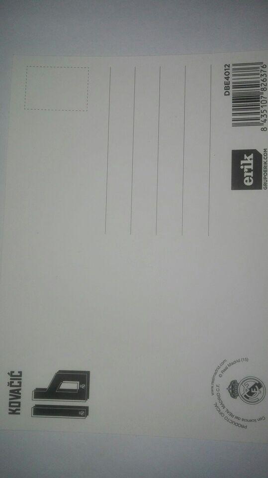 Autografer, Kovacic autograf real madrid inter milan
