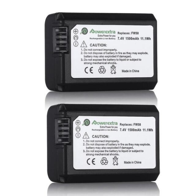 Maniquí de alimentación de NP-FW50 DC Acoplador Batería Para Sony A7 A7R A7S A6300 Serie Nuevo