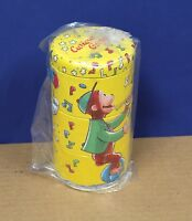 Schylling Tin Litho Curious George Twisting Tins Retro Mint (new) 1995